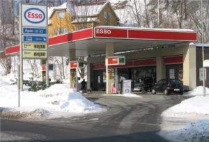 Fuel Petrol Station in Norway