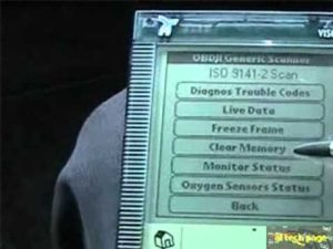obd2 dtc codes on scanner tool