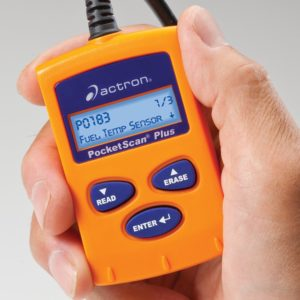 Actron CP9550 PocketScan action