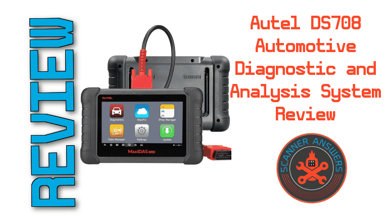 Autel DS708 Automotive Diagnostic and Analysis System Review