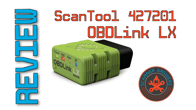 ScanTool 427201 OBDLink LX Review