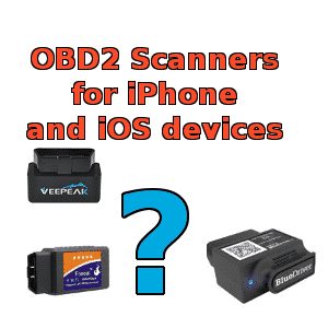 OBD2 iPhone and ios adapters