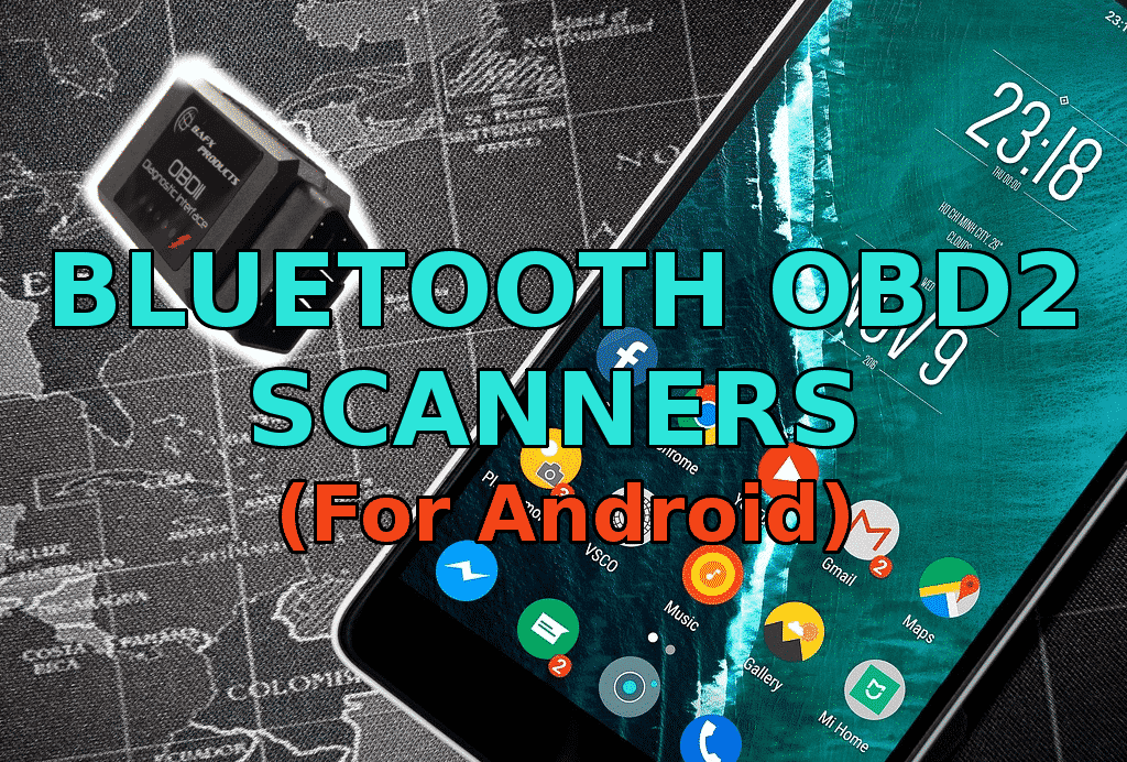 bluetooth obd2 adapters for android smartphones
