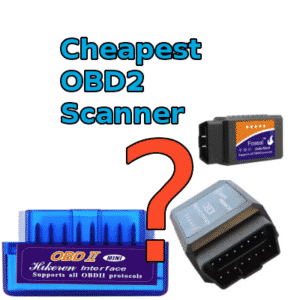 Cheapest OBD2 Scanners