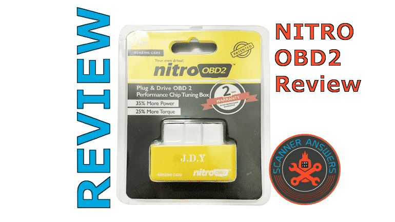 ✅2019 Nitro OBD2 Review | ScannerAnswers