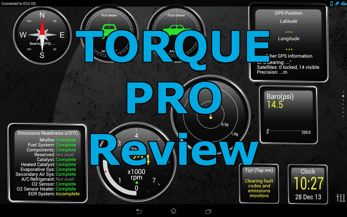 torque pro interface