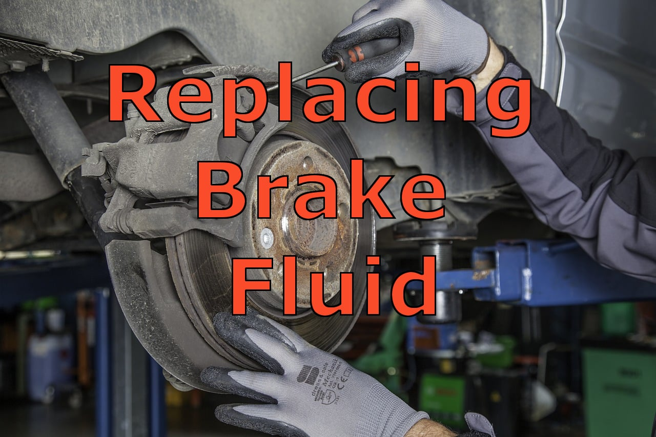 Replace the Brake Fluid