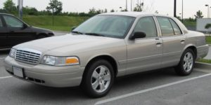 old crown vic car