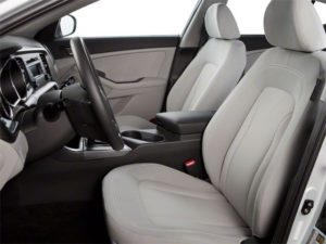 2013 Kia Optima beige leather interior