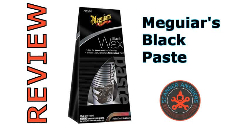 Meguiar's Black Paste Wax Review