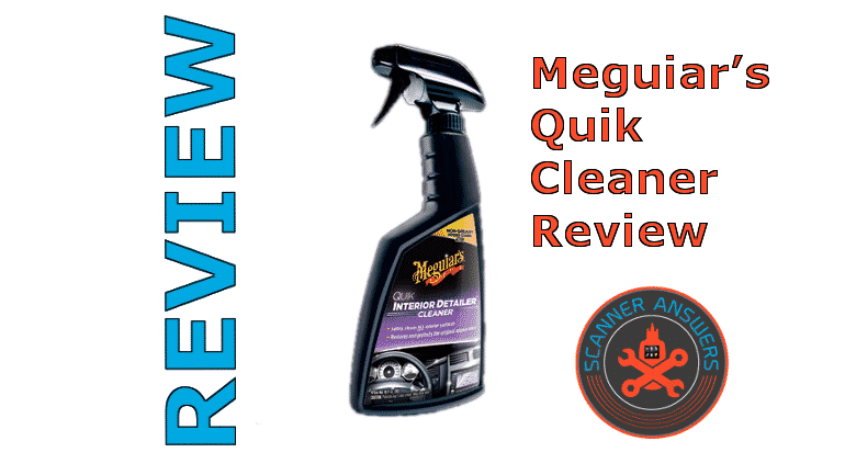 Meguiar's Quik Interior Detailer Review