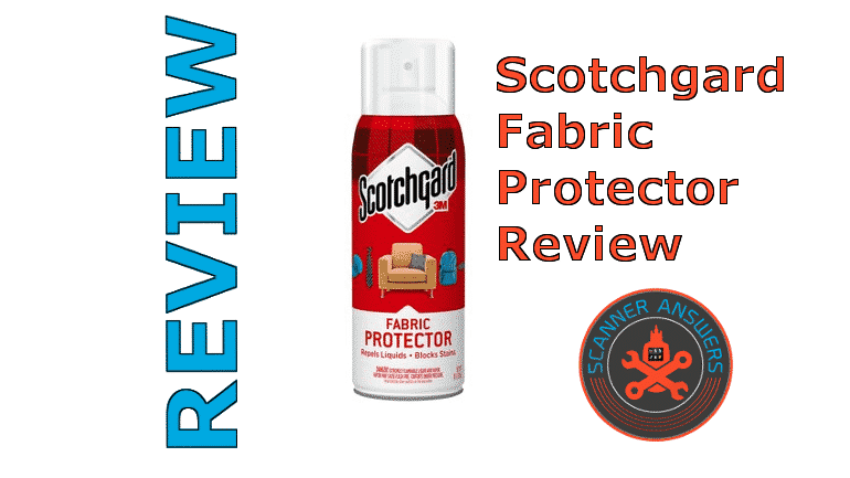 Scotchgard Fabric Upholstery Protector Review