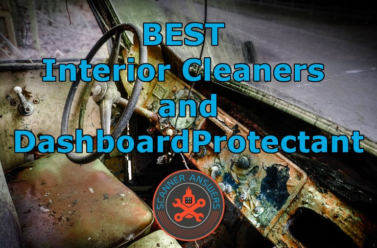 Vehicle Interior Cleaner and Dashboard Protectant