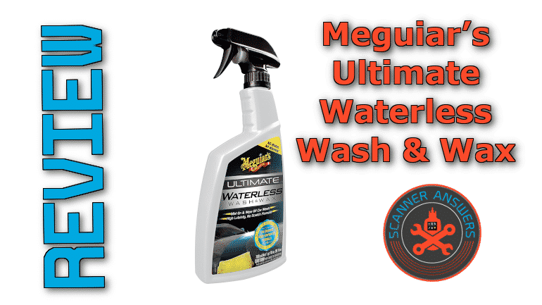 Meguiar's Ultimate Waterless Wash & Wax Review