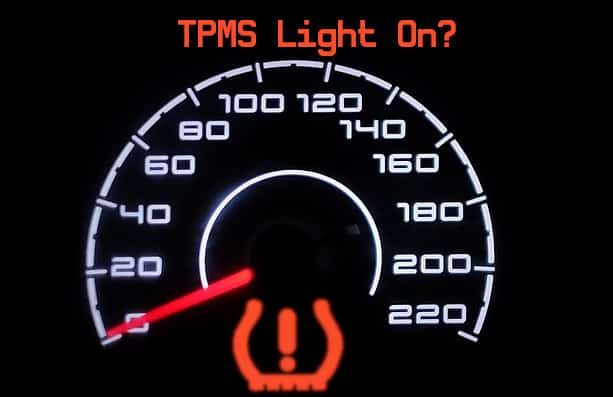TPMS Light On dashboard