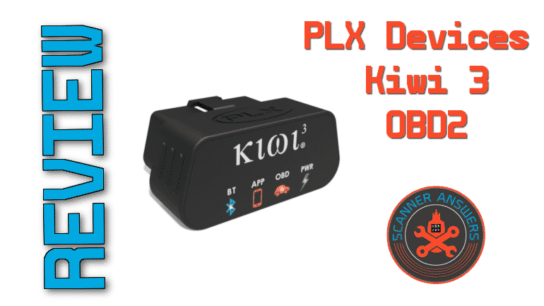 PLX Devices Kiwi 3 OBD2 Wireless Bluetooth Scanner Review