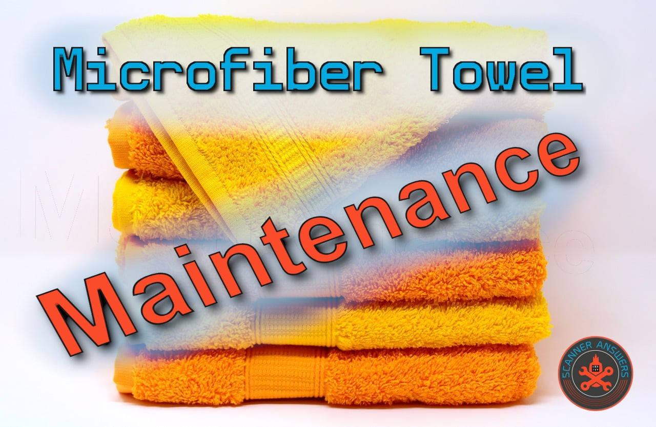 microfiber towel maintenance