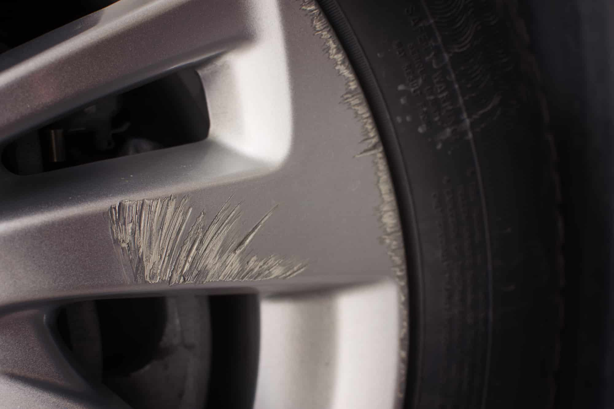 Alloy Wheel Scratch Repair What To Do About Scraped Rims