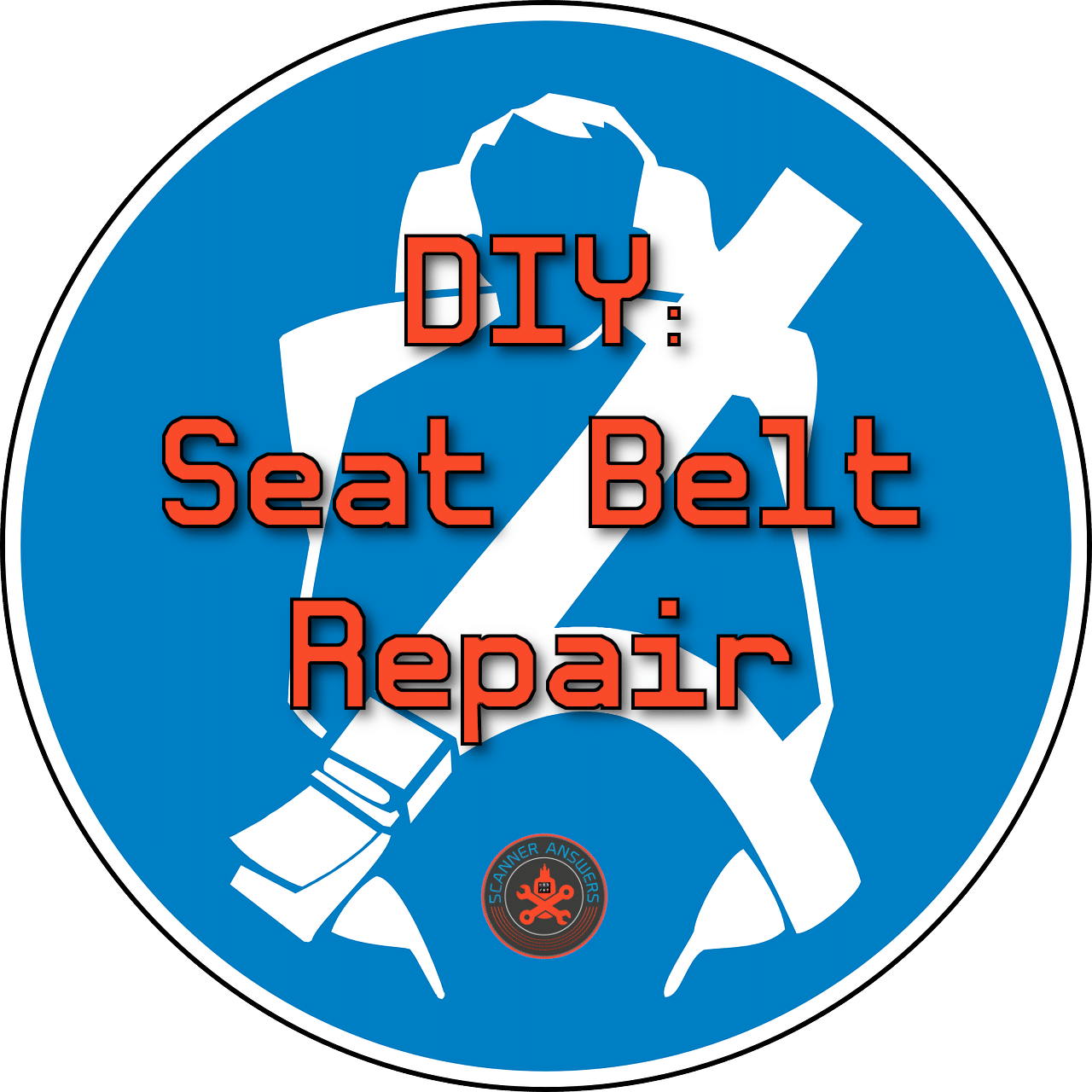DIY Seat Belt Repair ✔️ How to Fix Seat Belt Buckle