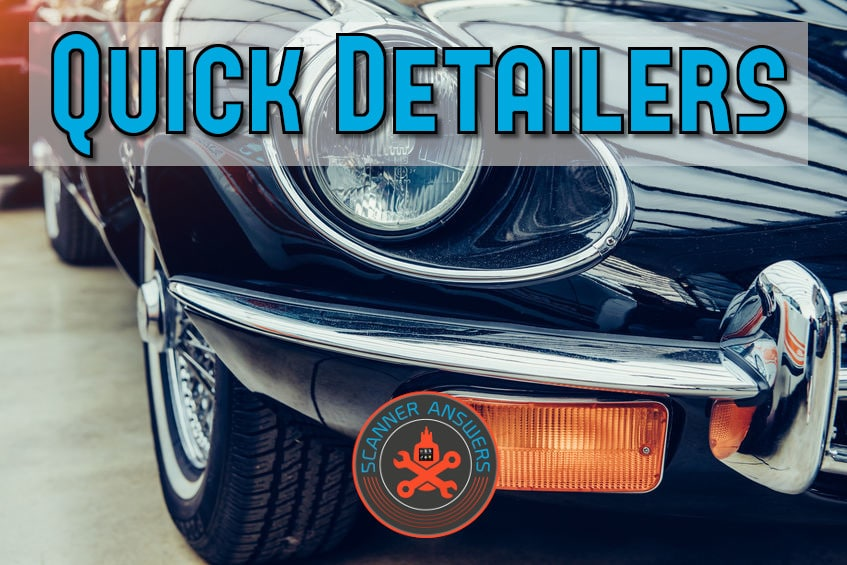 Best Detail Spray for Exterior Vehicle Care