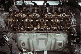 valve train from Honda d16