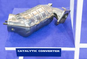 The catalytic converter for automobile