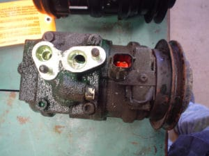 old ac compressor