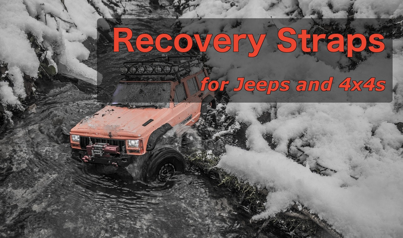 Recovery Straps for Jeeps and 4x4
