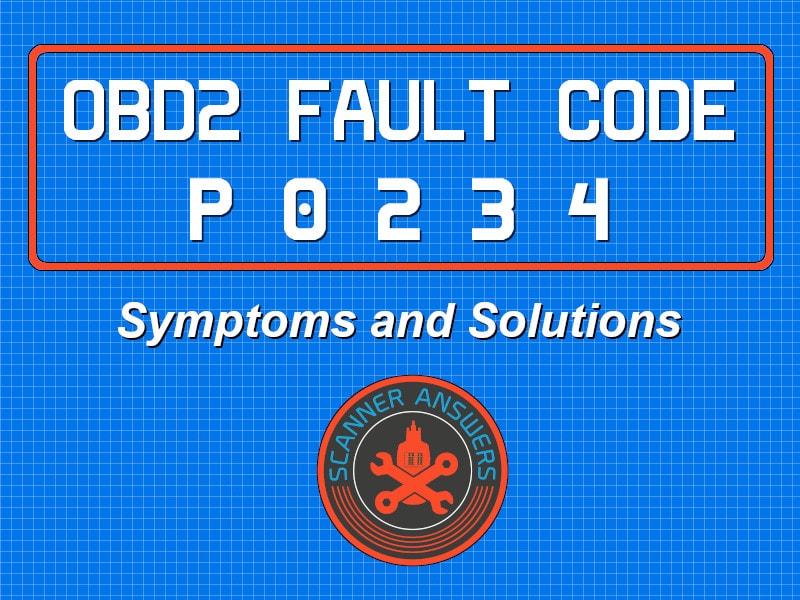 P0234 OBD2 Trouble Code