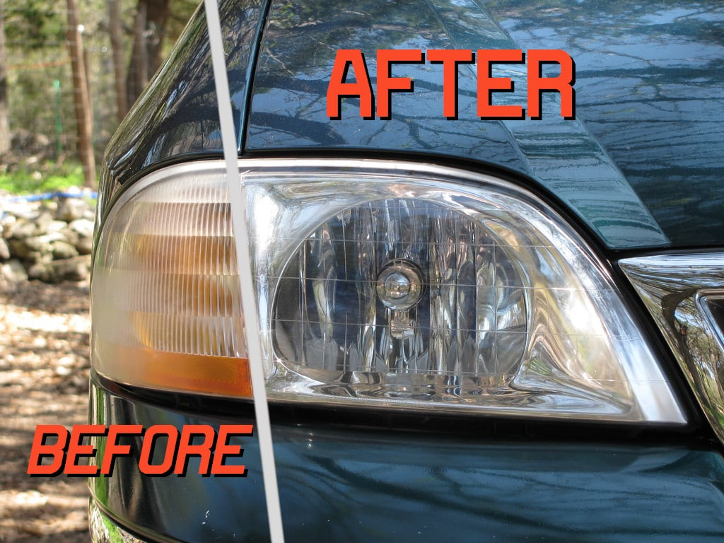 How to Clean Plastic Headlights with Household Items