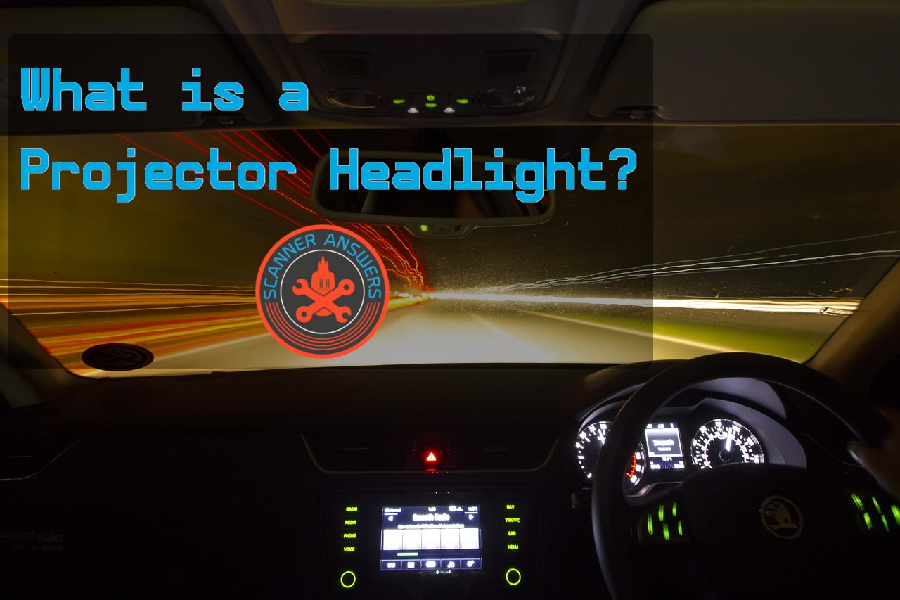 What is a projector headlight