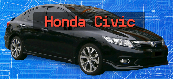 2013 black honda civic