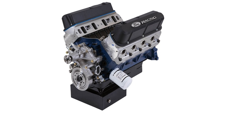 Ford 535HP Crate Engine With Z2 Series Cylinder Heads