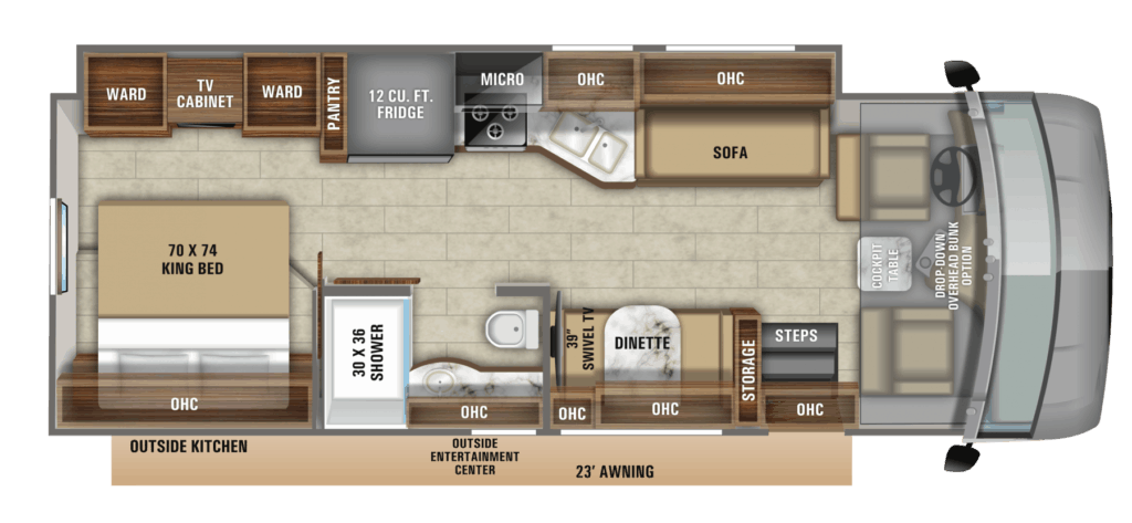 Jayco Precept 29V Floorplan