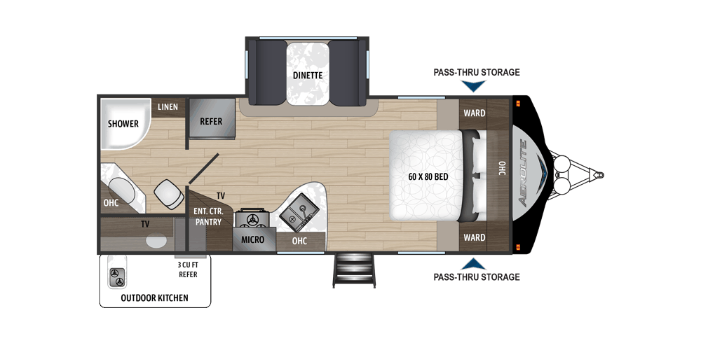 Dutchman Aerolite Floorplan