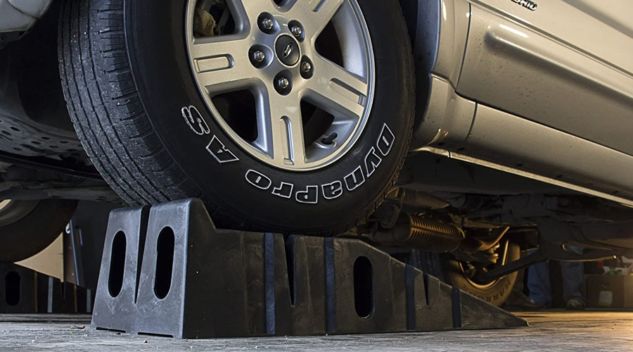Buying Guide & Reviews Top 5 Car Ramps For Oil Change