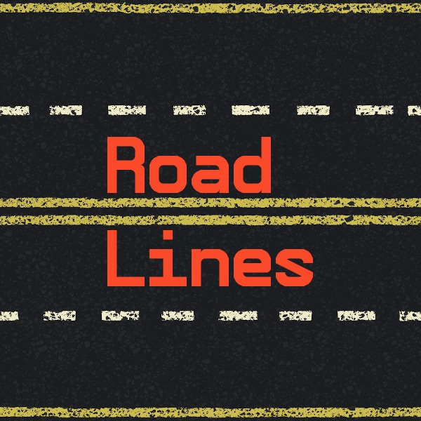 highway road lines