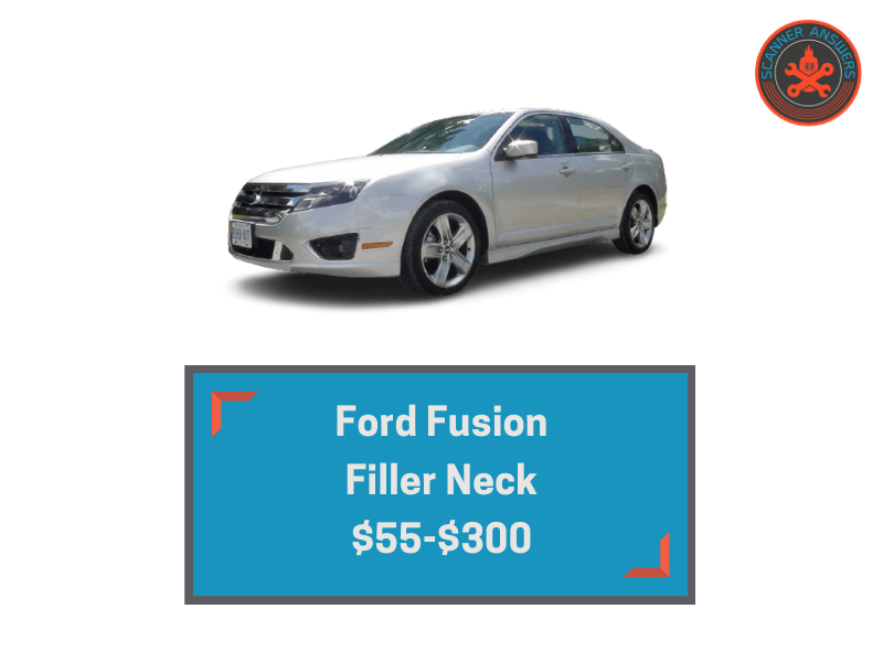 ford fusion filler neck price