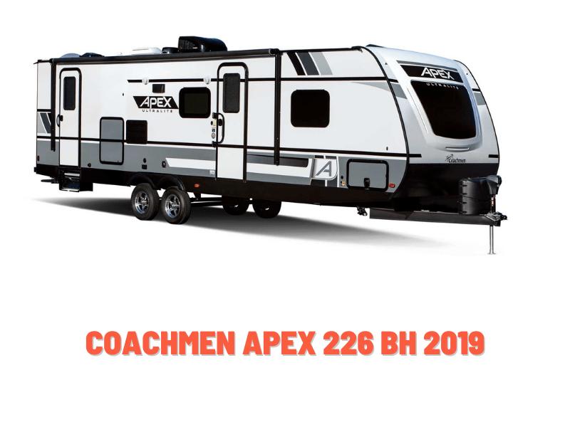Coachmen Apex 226 BH 2019